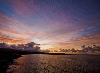 Sonnenaufgang, Hanapepe Bay, Kauai, ©Hawaii Tourism Authority