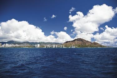 Blick auf Leahi & Waikiki, Oahu, ©Tor Johnson
