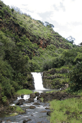 Wasserfall, Waimea Valley, Oahu