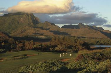 Golfplatz des Grand Hyatt Kauai