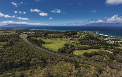 Blick auf Lanai und Molokai, Maui, ©Tor Johnson
