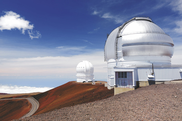 Eines der wichtigsten astronomischen Observatorien der Welt befindet sich auf dem Gipfel des Mauna Kea