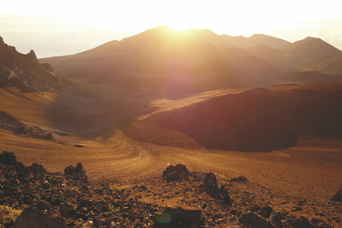 Haleakala Vulkan