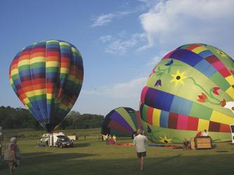 Heißluftballon beim Balloon Festival, ©Chester County Conference & Visitors Bureau