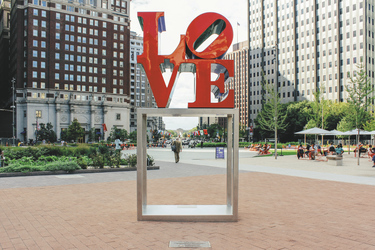 Love Park in Philadelphia, ©Kyle Huff