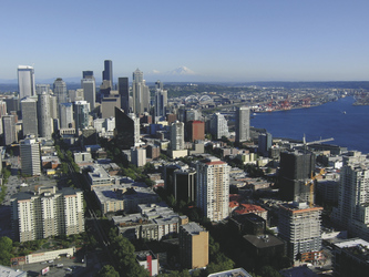 Blick auf Seattle - ©Steffen Albrecht, ©Steffen Albrecht