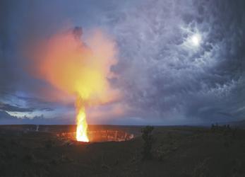 Halemaumau Krater in der Kilauea Kaldera - © HawaiiTourism - Paul Zizka