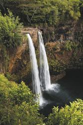 Wailua Falls auf Kauai, ©Tor Johnson