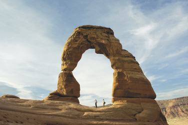Delicate Arch im Arches Nationalpark - ©Utah Office of Tourism