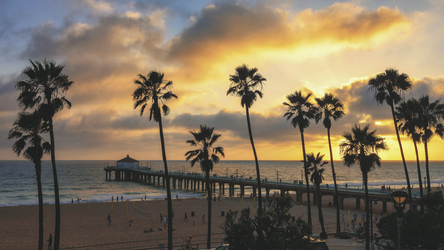 Manhattan Beach in Los Angeles - ©Dmitry Vinogradov, ©Dmitry Vinogradov