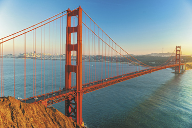 Golden Gate Bridge, San Francisco, Kalifornien, USA, ©Luciano Mortula