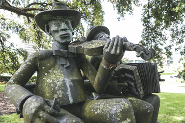 Statue in Baton Rouge