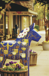 Dala Horse in Lindsborg © Kansas Tourism