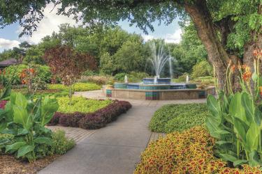 Botanischer Garten in Wchita © Kansas Tourism