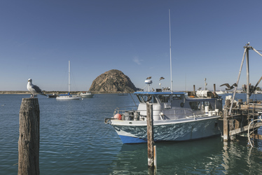 Morro Rock in Morro Bay - c Visit California/Carol Highsmith