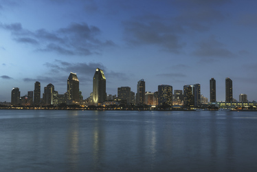 San Diego bei Nacht - c Visit California/Carol Highsmith, ©Visit California/Carol Highsmith