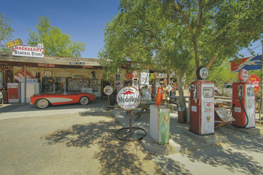 Tankstelle auf der Route 66 - c Dan Schewmaker, ©Dan Shewmaker