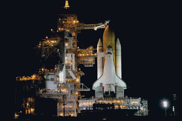 Florida, Kennedy Space Center, Space Shuttle Discovery, ©Mike Sharp