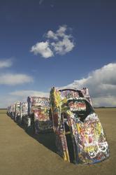 Cadillac Ranch bei Amarillo - c Kenny Braun, ©Kenny Braun