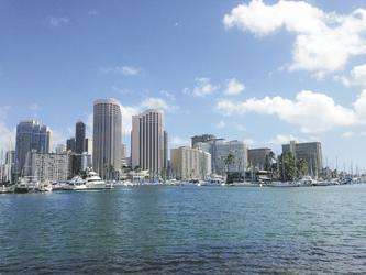 Hafen von Honolulu