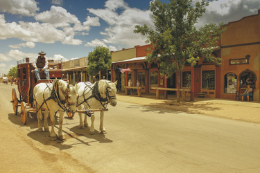 Pferdekutsche in Tombstone, Arizona - ©AOT