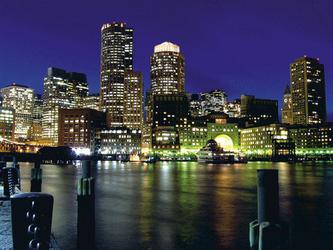 Hochhäuser der Boston Skyline
