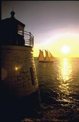 Castle Hill Leuchtturm, Newport