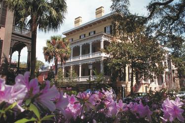 Historisches Gebäude in Savannah