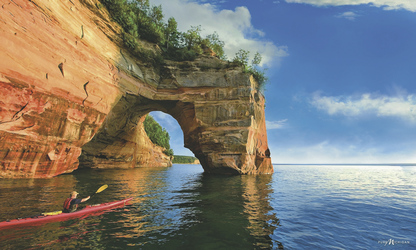 Pictured Rocks, Michigan