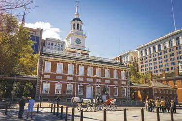 Historisches Stadtzentrum von Philadelphia