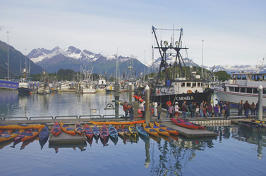 Der Hafen von Valdez ©State of Alaska/Reinhard Pantke, © Reinhard Pantke