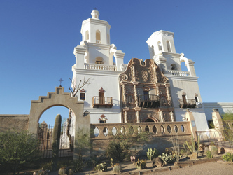 Basilica, Mission San Xavier Del Bac, Tucson - ©TravelDreamWest