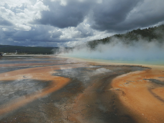 Thermalquelle Grand Prismatic Spring, Yellowstone Nationalpark -  ©TravelDreamWest, ©TravelDreamWest