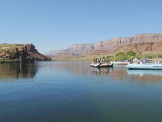 Rafting auf dem Colorado River, Arizona  - ©TravelDreamWest