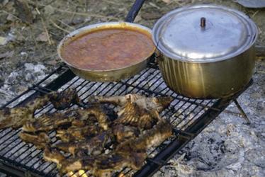 Buschküche , ©Shamiso Tours