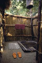 Island Bush Camp Busch-Dusche