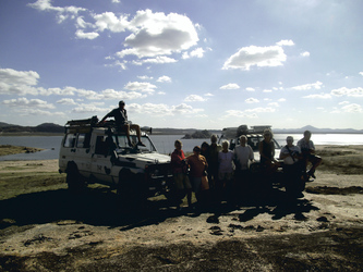 Off-Road Safari, Lake Mutirikwi, Zimbabwe