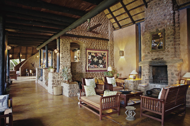 Lounge, ©Stanley Safari Lodge