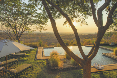 Schwimmbad, Stanley Safari Lodge, ©Robin Pope Safaris