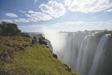 Atemberaubende Wasserfälle, ©Sunway Safaris
