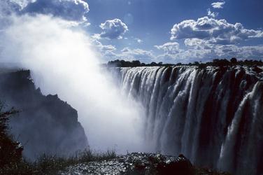 Unesco Weltkulturerbe Victoria Wasserfälle
