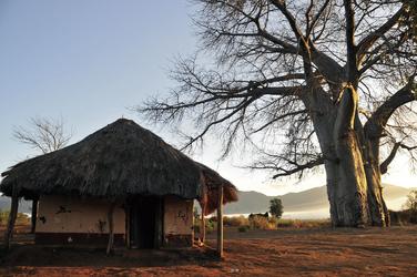 Dorf am Wegesrand