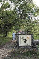 Aufstieg Greater Zimbabwe Ruines
