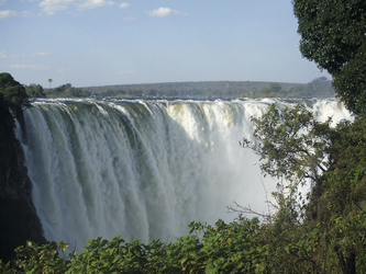 Die gewaltigen Victoria Wasserfälle