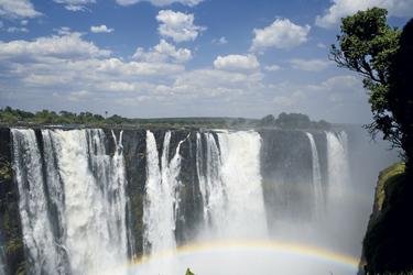 Victoriafälle in Zimbabwe