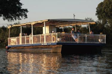 Bootsfahrt auf dem Zambezi
