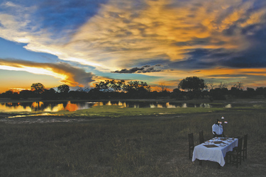 Sonnenuntergang Bomani Tented Lodge, ©Imvelo Safari Lodges