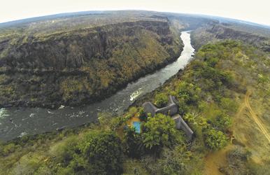 Lage der Gorges Lodge, ©Imvelo Safari Lodges